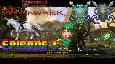 Sharandar, the feywild homeland - Neverwinter Xbox one S2 episode 1