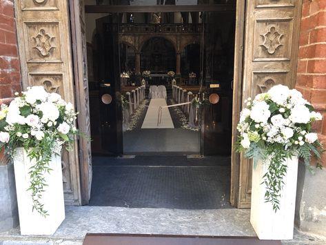 Ingresso Chiesa Fiori Per La Chiesa Da Matrimonio Matrimonio Addobbi Floreali Matrimonio