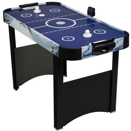 Franklin Sports 48 Straight Leg Air Hockey Table Walmart Com Air Hockey Table Air Hockey Game Room Kids