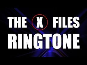 Set Your Ringtone To The Theme Of The X Files Ringtone Enjoy This Classic Theme Music Ringtone In 2020 Ringtones For Iphone X Files Ringtones For Android