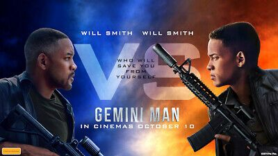 Gemini Man 4k Ultra Hd Blu Ray 2019 Will Smith With Slip Cover For Sale Online Ebay Gemini Man Will Smith Tv Shows Online