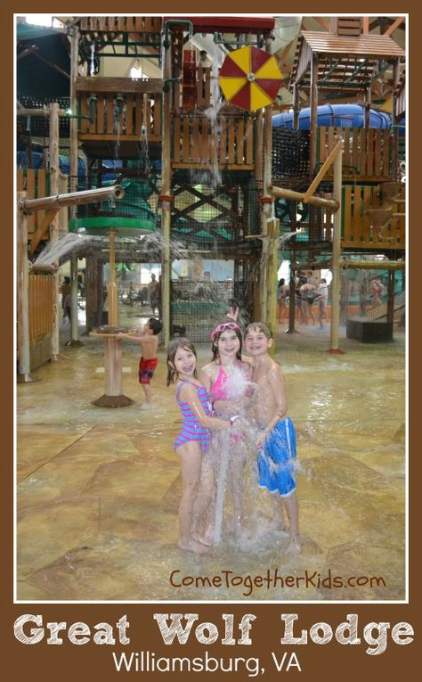 A couple weeks ago I took the kids to the Great Wolf Lodge indoor water park in Williamsburg, VA. It was just an overnight trip that was a.
