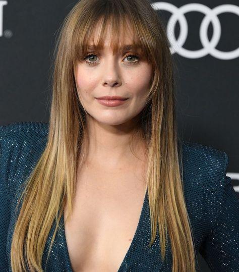 Light Brown Hair Colors: Elizabeth Olsen