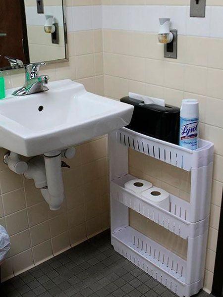 10 trucos para aprovechar el espacio de un baño pequeño ...