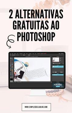 Buscando editores para criar imagens impressionantes para o seu blog? Confira duas alternativas gratuitas ao Photoshop! #Fotografia #Design #Dicas #Fotos #EditorDeFotos #Photoshop / Photoshop dicas / Dicas de Fotografia / Truques de Fotografia /