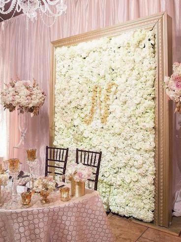 11 Sq Ft 4 Panels Uv Protected Cream Hydrangea Flower Wall Mat Panel Flower Wall Wedding Diy Flower Wall Wall Backdrops