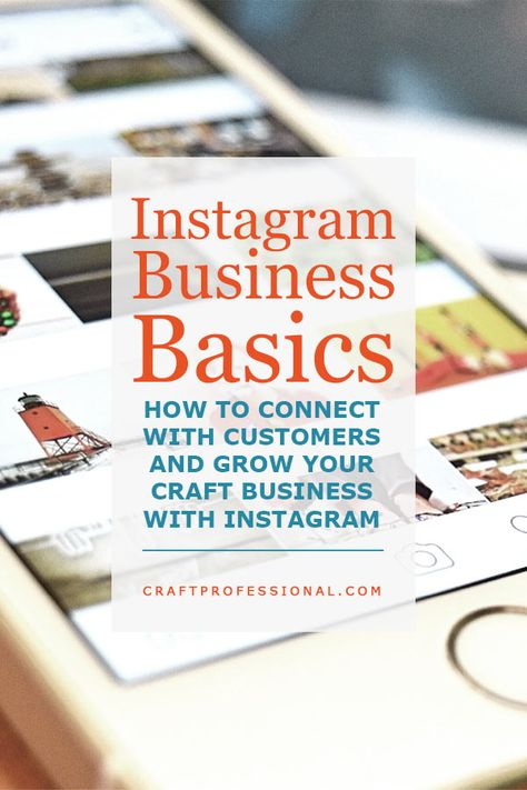 Instagram Business Marketing for Craft Business Owners