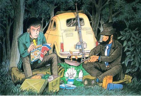 drawing おしゃれまとめの人気アイデア pinterest julie becker アニメ 作画 イラスト ルパン三世