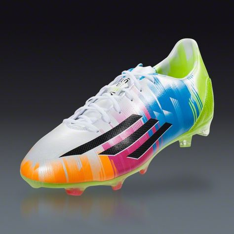 f984afc11 adidas F30 TRX FG Messi - Running White Black Solar Slime Firm Ground  Soccer Shoes
