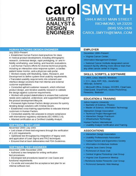 Software Test Engineer Sample Resume Pleasing Resume Tips 960×720  Professional Development  Pinterest .