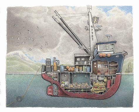 Shrimp Boat 1 Boat Building Boat Drawing Build Your Own Boat