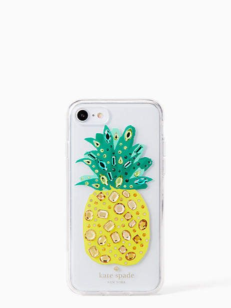 promo code 35b68 125bd Jeweled pineapple iPhone 7 & 8 case | IPhone cases | Phone, Iphone ...