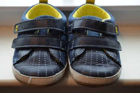 d6e7e1af11d 6-12 Months Baby Boy Shoes SURPRIZE STRIDE RITE Blue Soft Soles Non Skid  Walking  StrideRite  FirstShoes