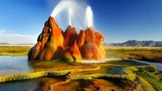 Impactantes Paisajes Extraños Del Mundo Dailymotion Fly Geyser Fly Geyser Nevada Breathtaking Places