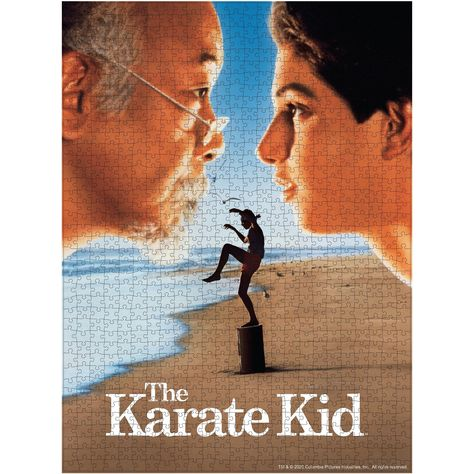 The Karate Kid Movie Poster Jigsaw Puzzle In 2021 The Karate Kid 1984 Karate Kid Movie Karate Kid