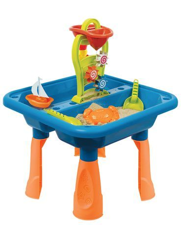 Play Day Sand And Water Table Outdoor Toys Walmart Canada Sand