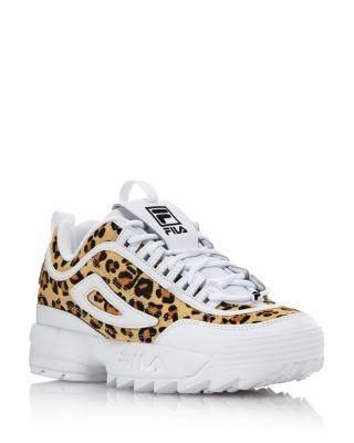 FILA Women's Disruptor 2 Leopard Sneakers | Bloomingdale's