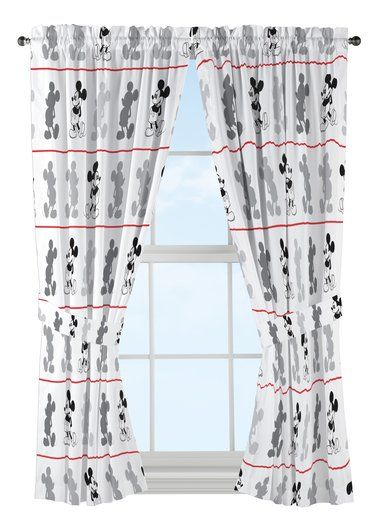 Loving This Mickey Mouse 63 Curtain Panel Set Of Two On Zulily Zulilyfinds Disney Curtains Panel Curtains Curtains