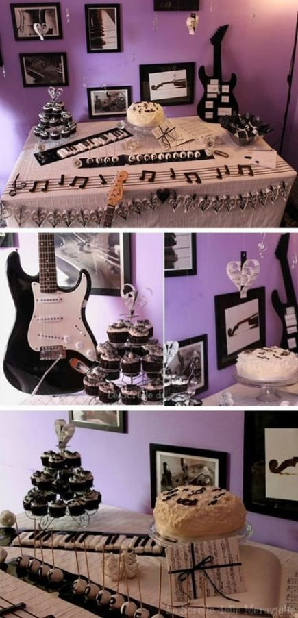 New Music Party Cake Awesome 58+ Ideas #party #music #cake
