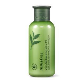 Innisfree Green Tea Balancing Skin Care Set Ex 1 Set 5 Pcs At Beautytap Skincare Set Skin Balancing Green Tea