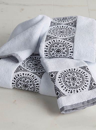 Medallion Turkish Cotton Towels Toalhas Bordadas Roupa De Cama