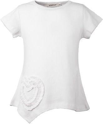 Ipuang Girls Heart-Shaped Long Sleeve T-Shirt