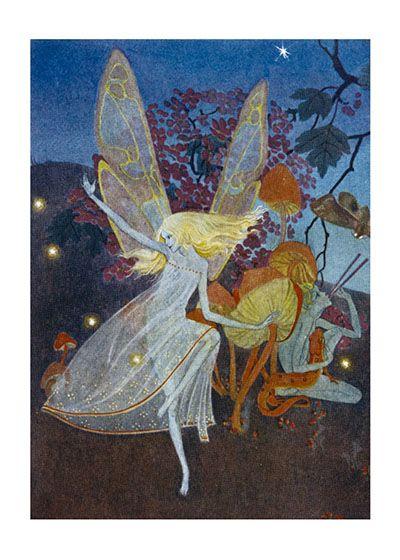 fe782f08e5d54 A Dancing Fairy With Long Blonde Hair in 2019 | Fairies | Canvas art ...