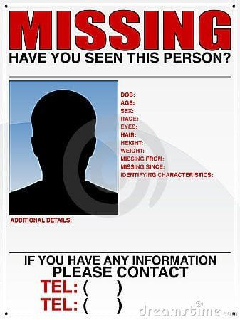 Missing Person Flyer Template 10 Missing Person Poster Templates Excel Pdf Formats Missing Posters Missing Poster Template Poster Template Missing persons posters template