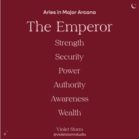 #tarot #theemperor #majorarcana #aries #astrology #zodiacsign #tarotcards