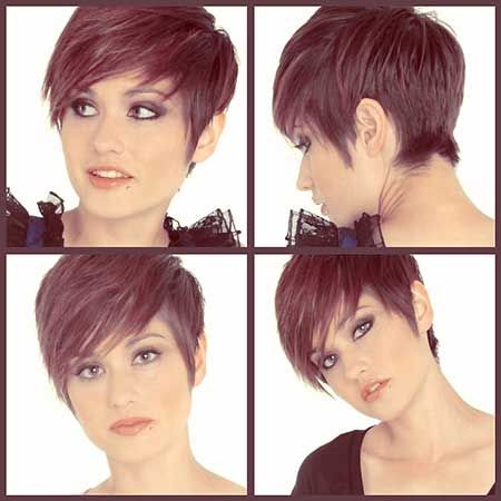 Short in the Back/Longer in the Front Pixie Cut More