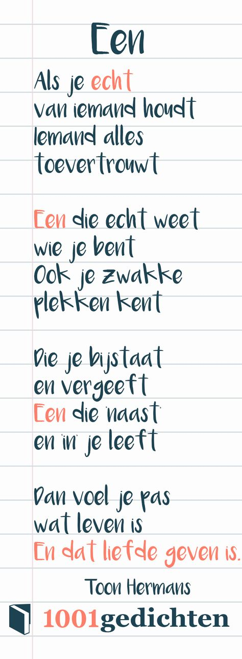 Toon Hermans gedicht. Gedicht over liefde, gedicht over