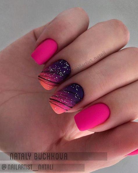 70 + Neueste Nail Art Fashion Designs Farben und Stil - #Arts #Designs #Farben ... ,  #design...