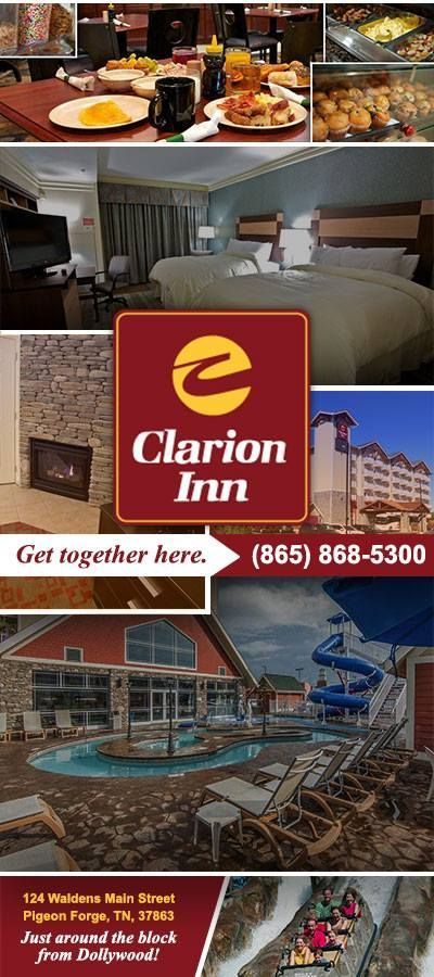 Clarion Inn Dollywood Area Pigeon Forge Tn Free Wifi And Breakfast Clarion Hotel Dollywood Indoor Outdoor Pool