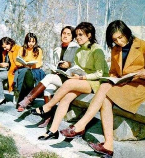 Women in Afghanistan were not always under house arrest and forbidden by law to leave their homes unchaperoned by a male relative. Once upon a time in pre-Taliban days Afghan women had access to professional careers, university-level education, shops selling non-traditional clothing, public transportation, and public spaces, all of which they happily navigated freely and without supervision.