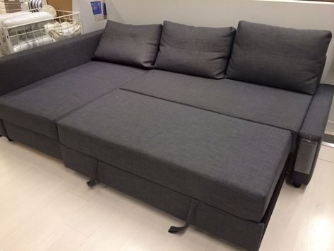 Sofa Bed Arredamento.Elegant Friheten Corner Sofa Bed Skiftebo Dark Grey Ikea For