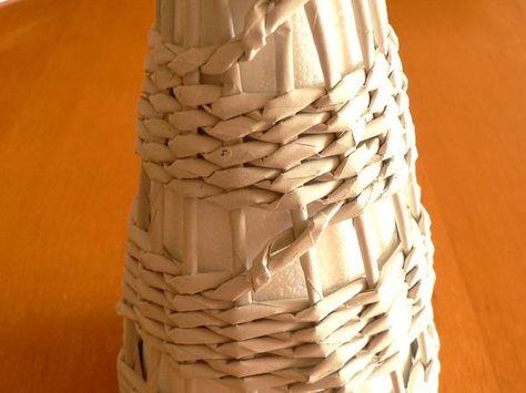 509086f16 Fotopostup na papierové pletenie - pletený stromček I., fotopostup ...
