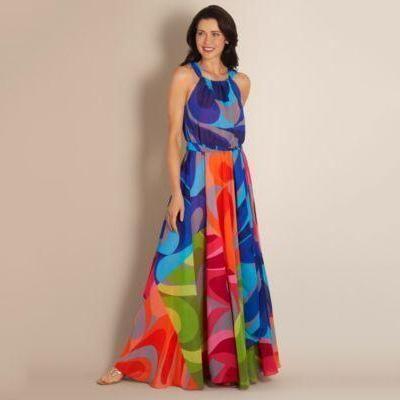 Floral Print Straps Cross Neck Sleeveless Beach Maxi Dress Vacation Maxi Dress Beach Maxi Dress Maxi Dress
