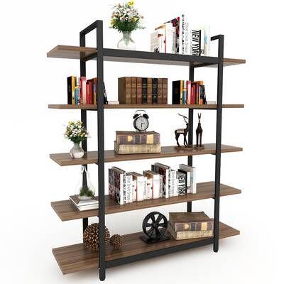 Rossman Etagere Bookcase In 2020 Industrial Design Furniture