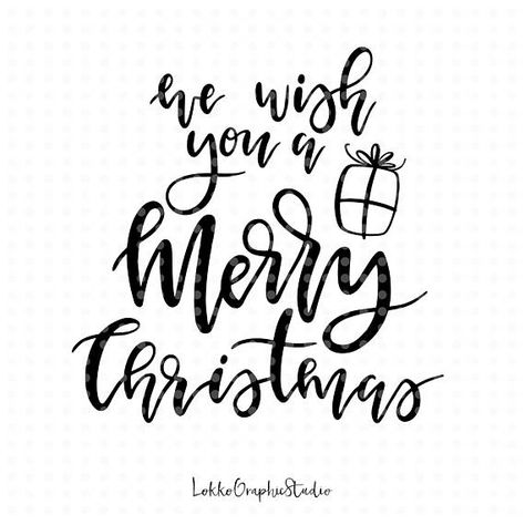 Oh So Jolly Svg Christmas Svg File Christmas Clipart Handlettered Svg Kids Svg Commercial Use Winter Svg Merry Christmas Svg File