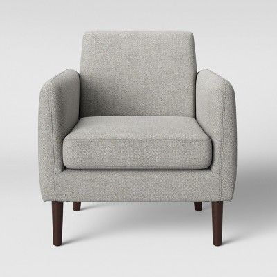 Jakarta Modern Arm Accent Chair Light Gray Project 62 In 2019