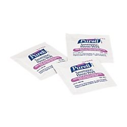 Purell Premoistened Sanitizing Hand Wipes White Case Of 1 000