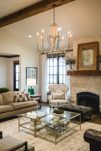Architectural Details And Interior Design By Alicia Zupan For Ethan Allen All Custom Dra Ethan Allen Living Room Interior Design Furniture Design Living Room