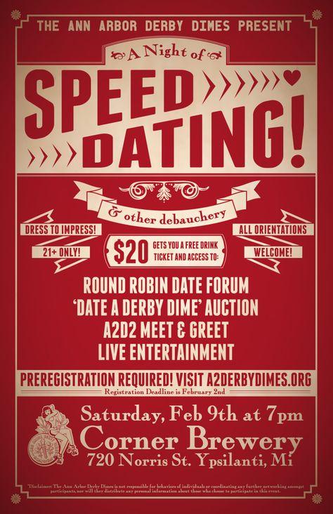 speed dating derby