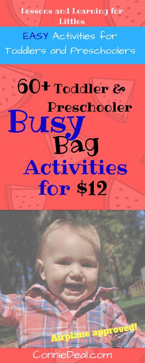 List Of Pinterest 2 Year Old Activities Teaching Preschool Busy Bags