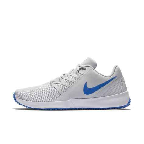 730537e1c29 Nike Varsity Compete Trainer Men s Gym Sport Training Shoe Size 11.5 (Pure  Platinum)