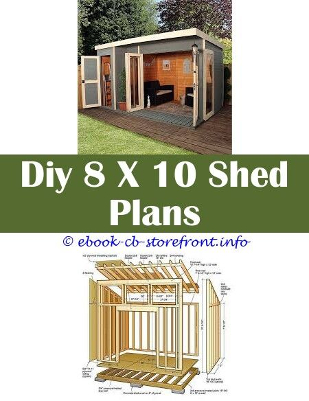 10 Masterful Cool Tips 12x12 Shed Plans With Garage Door Vertical Shed Plans Vintage Garden Shed Plans Wood Garden Shed Plans Diy Shed Row Barn Plans Con Immagini