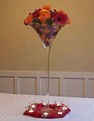 22+ Copas de cristal altas para decoracion ideas
