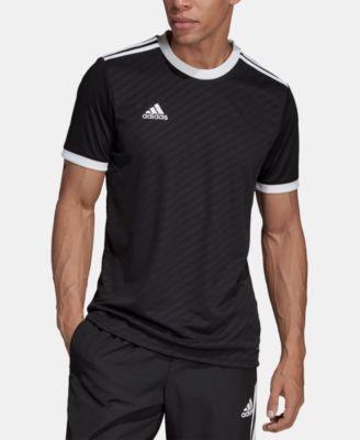 adidas Men's Tiro Jacquard Soccer Jersey - White S | Adidas men ...