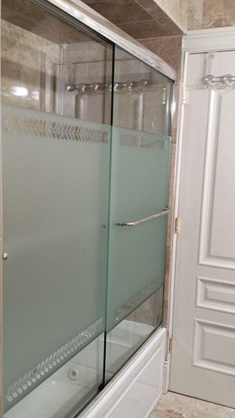 Creative Bypass Shower Doors Creative Mirror Shower In 2020 Shower Doors Bathtub Shower Doors Shower Sliding Glass Door