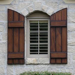 Exterior+Wood+Shutters | ... wood shutters outside window shutters ...